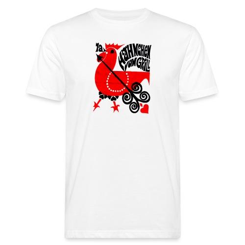 1a Hähnchen vom Grill - Männer Bio-T-Shirt