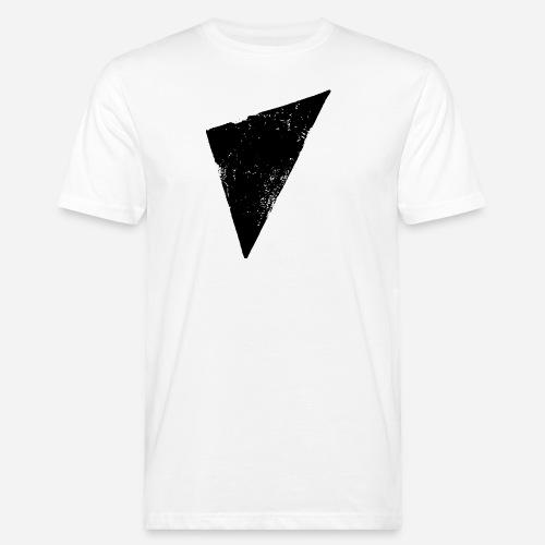 Dreieck   Polygon   Triangle - Männer Bio-T-Shirt