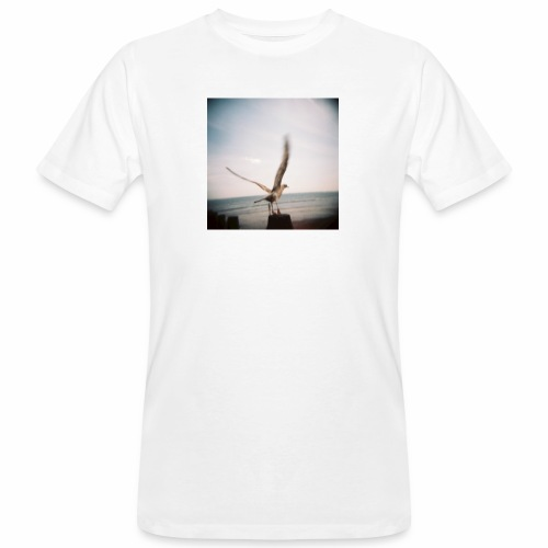 Original Artist design * Seagull - Men's Organic T-Shirt