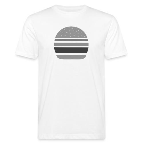 Logo_panhamburger_gris - T-shirt bio Homme