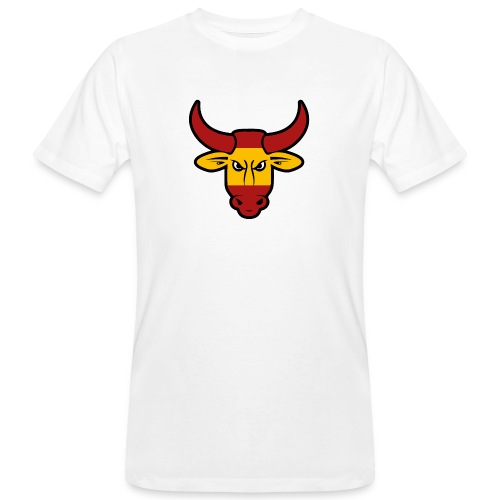 Toro Face - Camiseta ecológica hombre