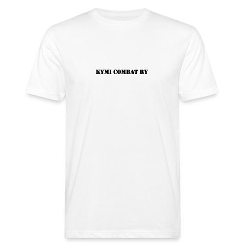 kc musta teksti transparent png - Miesten luonnonmukainen t-paita