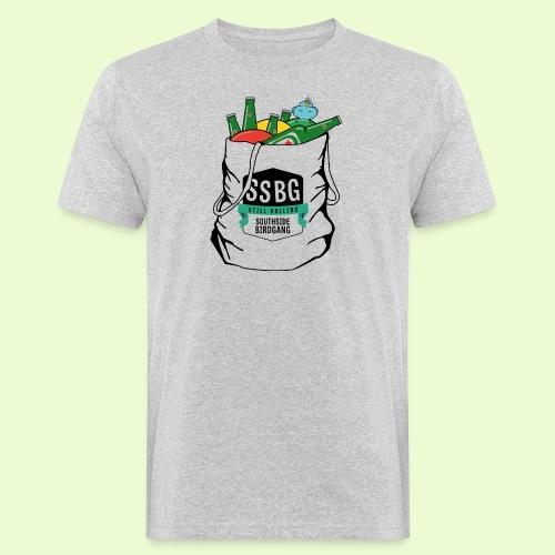 SSBG STARTER BAG - Miesten luonnonmukainen t-paita