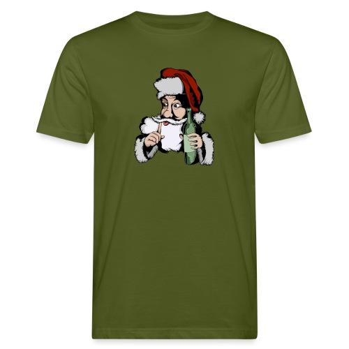 Père Noël Arrive - Santa is coming - T-shirt bio Homme