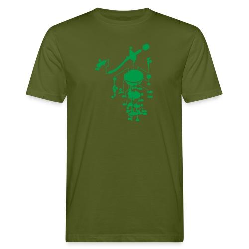 tonearm05 - Mannen Bio-T-shirt