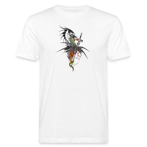 Dragon Sword - Drachenkampf - Männer Bio-T-Shirt