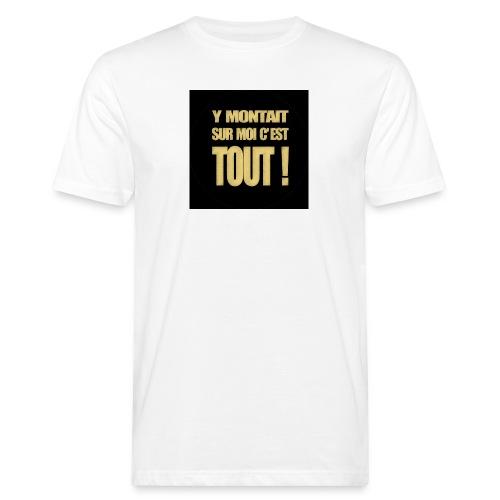 badgemontaitsurmoi - T-shirt bio Homme