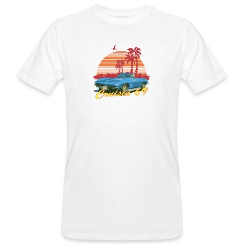crusin 69 - Men's Organic T-Shirt