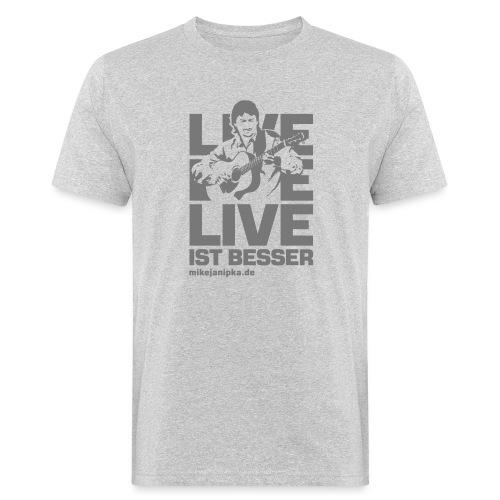 Janipka Shirt01 Flat - Männer Bio-T-Shirt