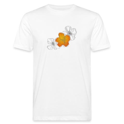Flowers - Camiseta ecológica hombre