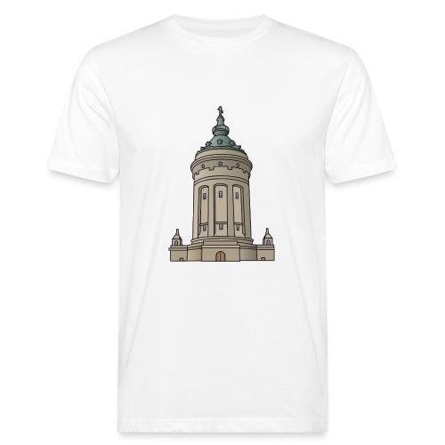 Wasserturm Mannheim c - Männer Bio-T-Shirt