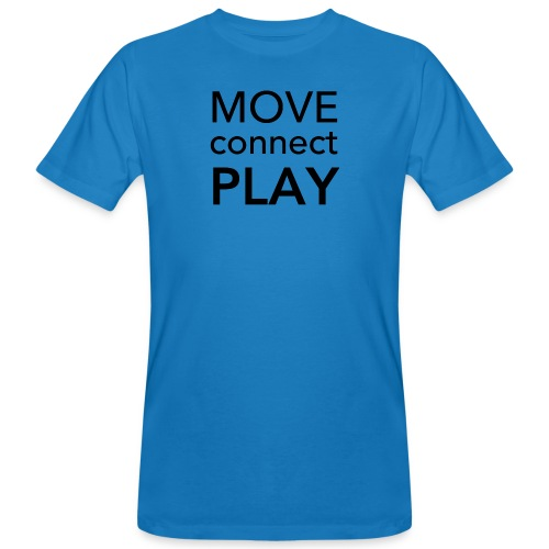 Move Connect Play - AcroYoga International - Men's Organic T-Shirt