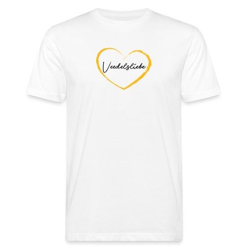 Veedelsliebe Herz - Männer Bio-T-Shirt