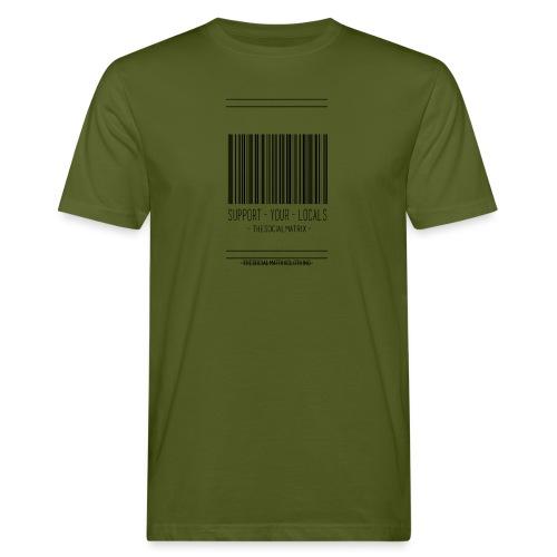 STEUN JE LOKAAL - Mannen Bio-T-shirt
