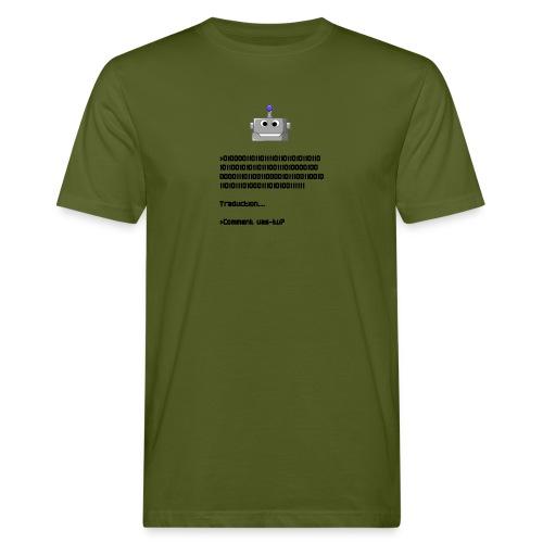 Salutation robotique - T-shirt bio Homme