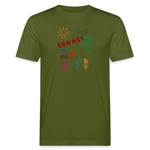 Summer - Miesten luonnonmukainen t-paita