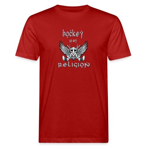 Hockey1 - Männer Bio-T-Shirt