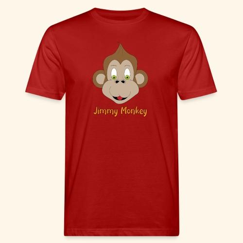 monkey green eyes - T-shirt bio Homme