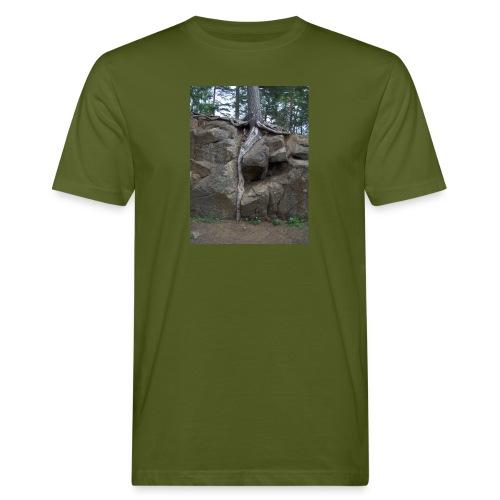 Juuret tukevasti maassa - Miesten luonnonmukainen t-paita