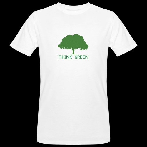 think green - Camiseta ecológica hombre