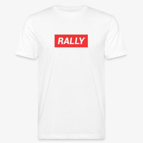Rally classic red - Ekologisk T-shirt herr