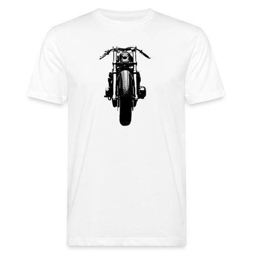 Motorcycle Front - Men's Organic T-Shirt