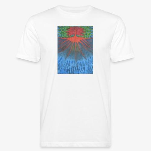 Drzewo Źycia - Ekologiczna koszulka męska