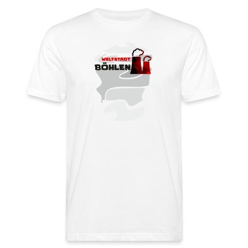 Weltstadt Böhlen - Männer Bio-T-Shirt