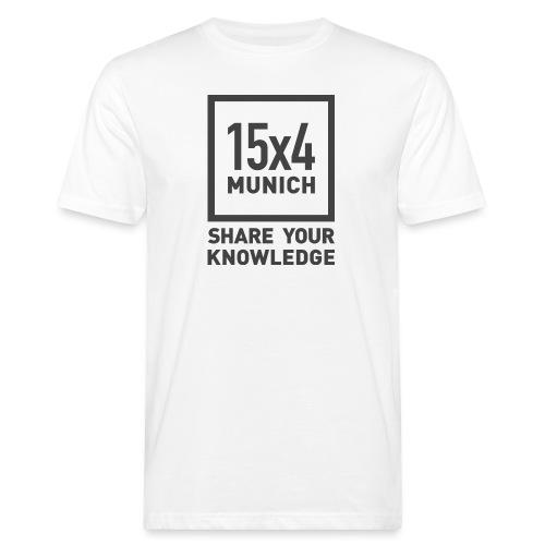 Share your knowledge - Männer Bio-T-Shirt