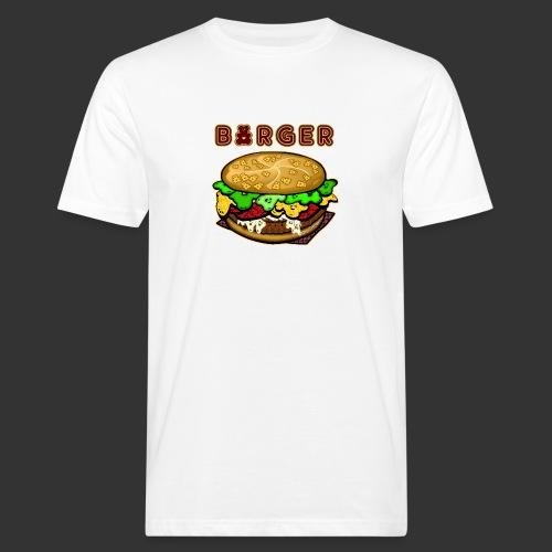 BAERENLUSTiger Burger Bear - Männer Bio-T-Shirt