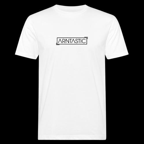 ARNTASTIC LOGO schwarz - Männer Bio-T-Shirt