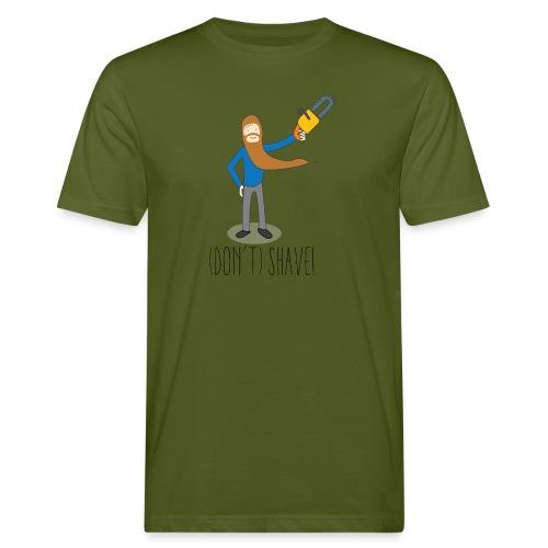 (Don't) SHAVE! - T-shirt ecologica da uomo