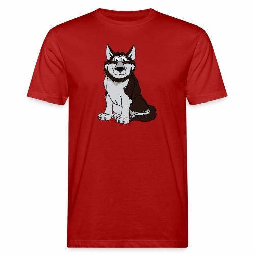 Husky - Männer Bio-T-Shirt