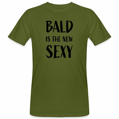 Bald is the new Sexy - Mannen Bio-T-shirt