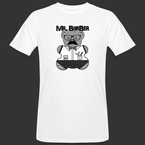 Mr. Barber - Männer Bio-T-Shirt