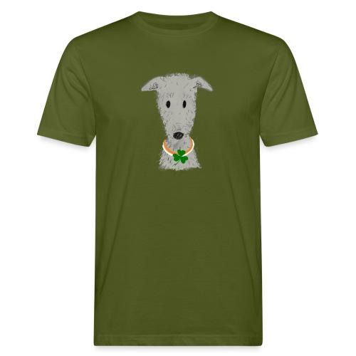 Irish Wolfhound - Männer Bio-T-Shirt