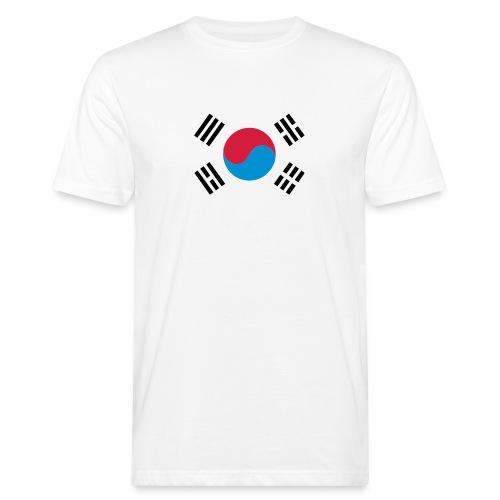 South Korea - Mannen Bio-T-shirt
