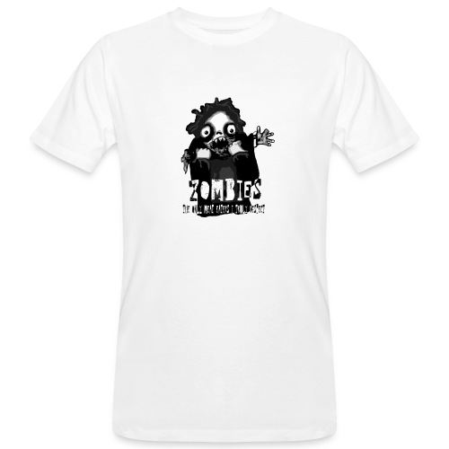 zombies - the only meat eaters i truly respect sv - Ekologisk T-shirt herr