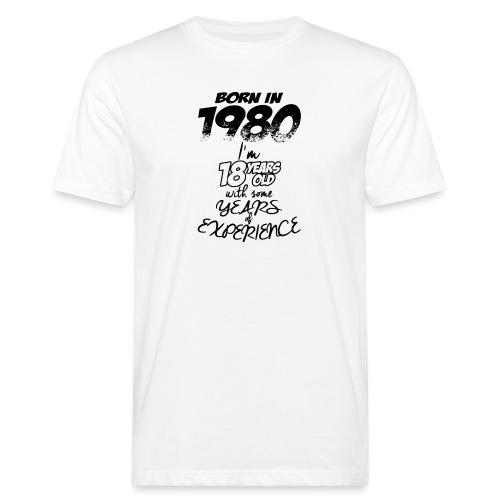 born In1980 - Men's Organic T-Shirt