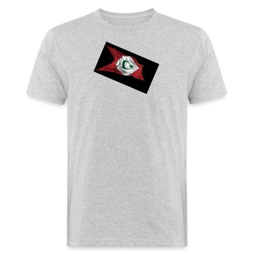 rif flag drapeau du rif de 1921 au 1927 Tamazgha.. - Mannen Bio-T-shirt