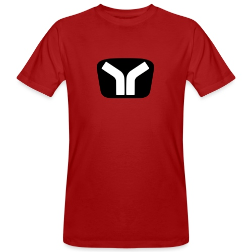 Yugo Logo Black-White Design - Men's Organic T-Shirt