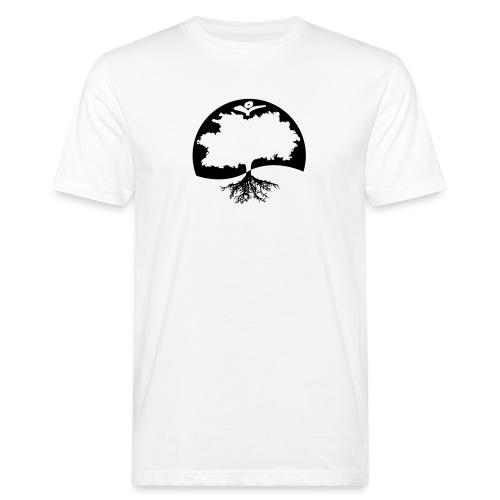 Naturals Logo Grafik - Männer Bio-T-Shirt