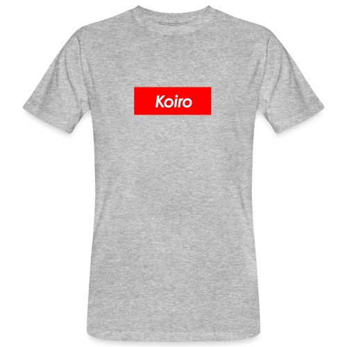 Koiro - Punainen - Miesten luonnonmukainen t-paita