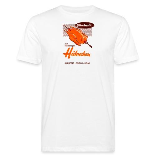 zum tischfertigen Ha hnchen - Männer Bio-T-Shirt