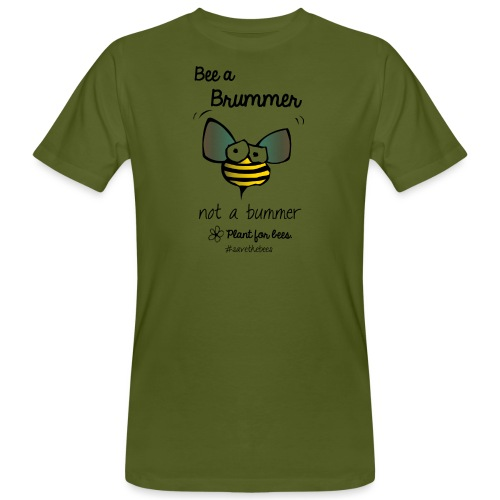 Bees6-2 Save the bees - Men's Organic T-Shirt