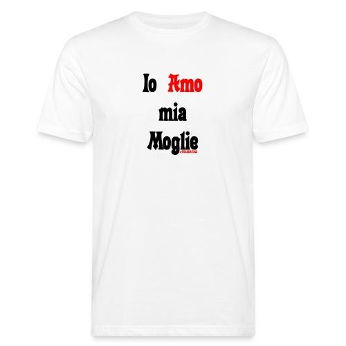 Amore #FRASIMTIME - T-shirt ecologica da uomo