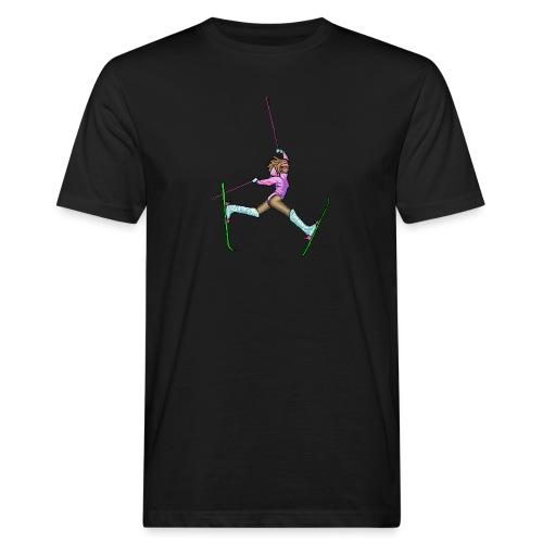 Hot Dogger - Miesten luonnonmukainen t-paita