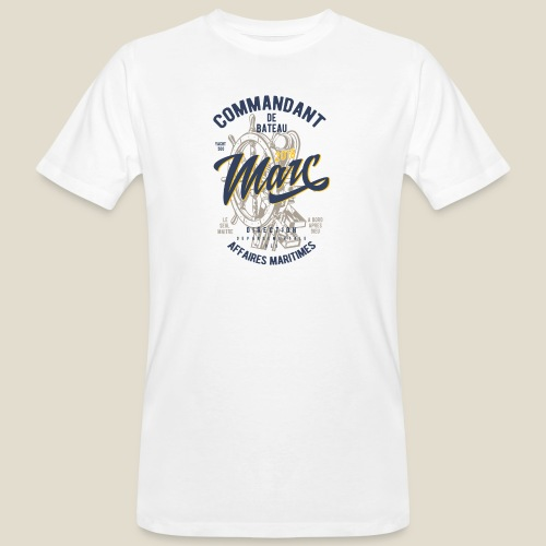 Commandant Marc - T-shirt bio Homme