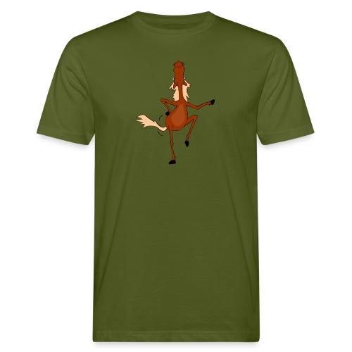 Tanzpferd - Männer Bio-T-Shirt