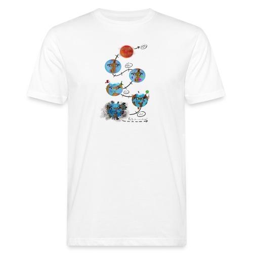 Earths_the end - T-shirt ecologica da uomo